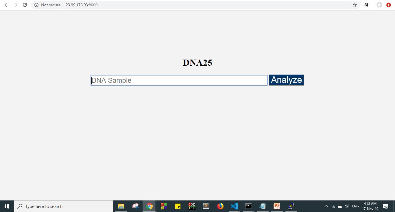 Dna Analyzer homepage
